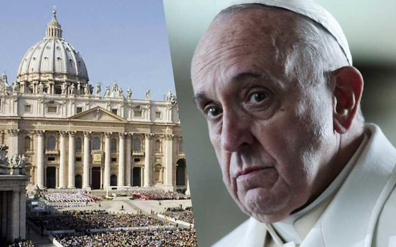 Bufera in Vaticano